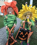 Tiger-Lily and Dande-Lion Homemade Costume