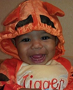 Bouncy Tigger Costume