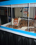 Illusion costume ideas - Tiger in a Cage Costume