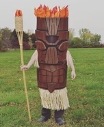 Tiki Boy Homemade Costume