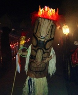 Tiki God Homemade Costume