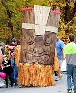 Tiki Man Homemade Costume