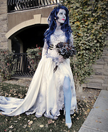 Tim Burton's Corpse Bride Homemade Costume