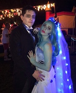 Tim Burton's The Corpse Bride Couple Homemade Costume