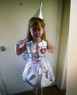 Tin Girl Homemade Costume