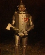 Tin Man Homemade Costume