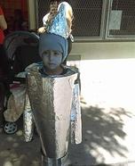 Tin Woodman Homemade Costume