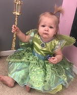 Tinker Bell Homemade Costume
