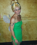 Tinker Bell and Peter Pan Homemade Costumes
