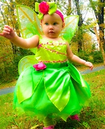 DIY Tinker Bell Baby Costume