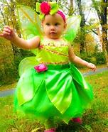 DIY Tinker Bell Baby Costume