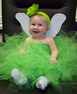 Costume ideas for baby's first Halloween - Tinkerbell Baby Costume