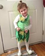 Homemade Tinkerbell Child Costume