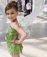 Tinkerbell Homemade Costume