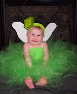 Homemade Tinkerbell Costume