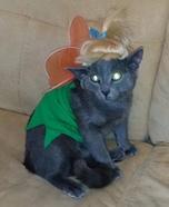 Tinkerbell Cat Homemade Costume