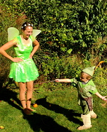 Tinkerbell & Peter Pan Homemade Costume