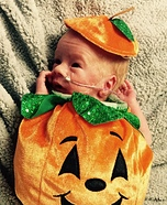 Tiny Cute Pumpkin Costume
