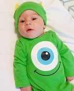 Tiny Mike Wazowski Costume