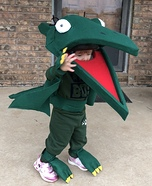 Tiny the Pteranadon from Dinosaur Train Homemade Costume