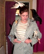 Tippi Hedren from The Birds Homemade Costume