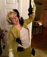 Tippi Hedren in The Birds Homemade Costume