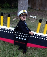 DIY Captain of the Titanic Costume