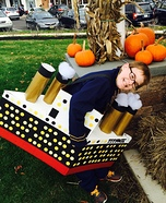 Titanic Boy Homemade Costume