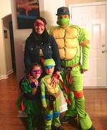 TMNT Family Homemade Costume