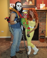 TMNT Family Homemade Costume