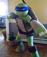 TMNT Leo Homemade Costume