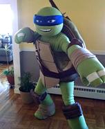 TMNT Leo Homemade Costume