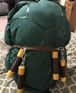 TMNT Michelangelo Dog Homemade Costume