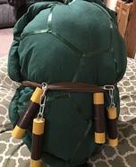 TMNT Michelangelo Dog Homemade Costume