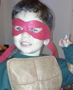 TMNT Raphael Homemade Costume