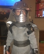 TMNT Shredder Homemade Costume