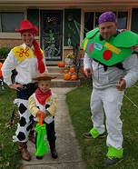 To Infinity and Beyond Toy Story Family Costume