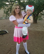 Toad and Princess Peach Costume