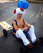 Toad from Mario Party Homemade Costume