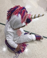 Toddler Unicorn Homemade Costume