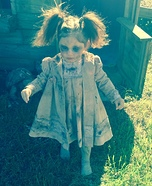 Toddler Zombie Homemade Costume