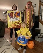 Toddler's Dinner Homemade Costume