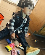 Toddlers of Anarchy Homemade Costume