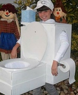 Toilet Homemade Costume