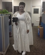 Toilet Paper Bride of Frankenstein Homemade Costume