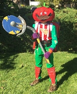 Tomato Head Fortnite Homemade Costume