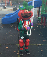 TomatoHead FortNite Homemade Costume