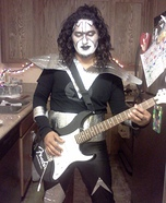 Tommy Thayer from Kiss Homemade Costume