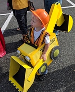 Tonka Backhoe Truck Homemade Costume