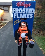 DIY matching costumes for babies and parents - Tony the Tiger Baby Costume